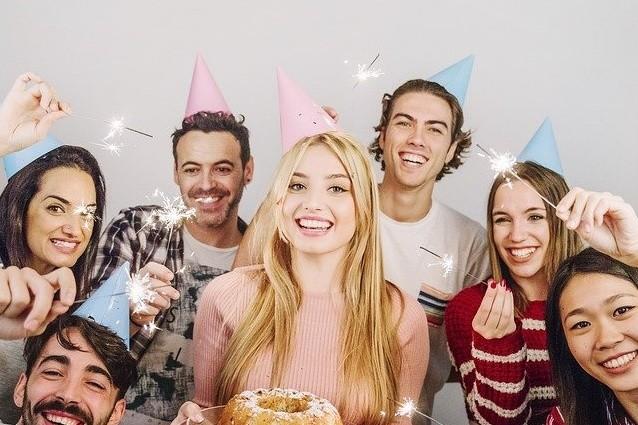Bild von einem Geburtstag