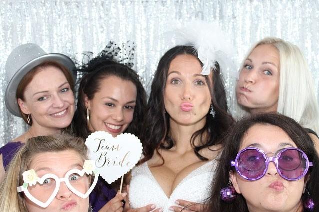 Bild bei einer Hochzeit
